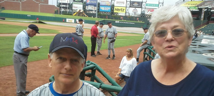 Mark Harmon and Teresa June 2014 cropped