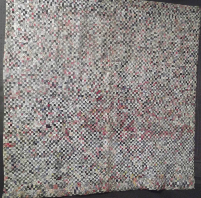 NewEngland postage stamp quilt cropped