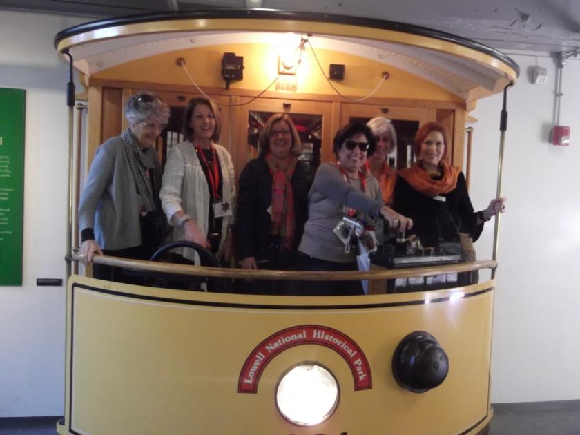 Brazilian ladies on Train in NewEngland.