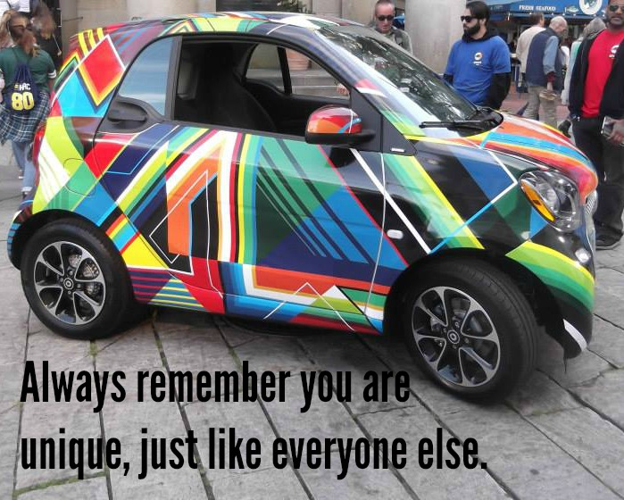 colorful-car-you-are-unique