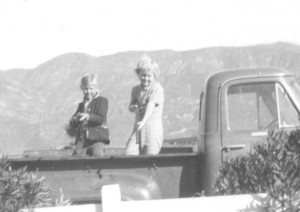 george-and-nita-in-pickup-with-rifles