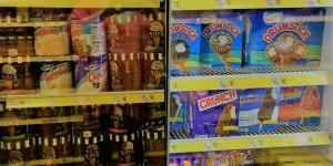 Choices, choices, so many ice cream choices.