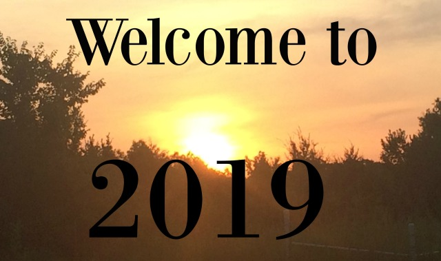 Welcome to 2019 sunrise