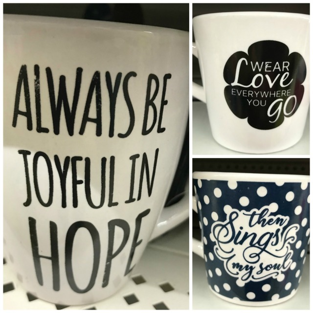 inspirational mug trio collage
