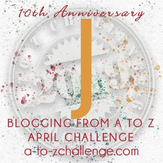 A to Z letter J.