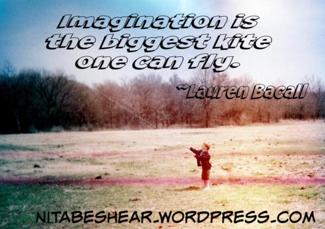 Imagination kite.