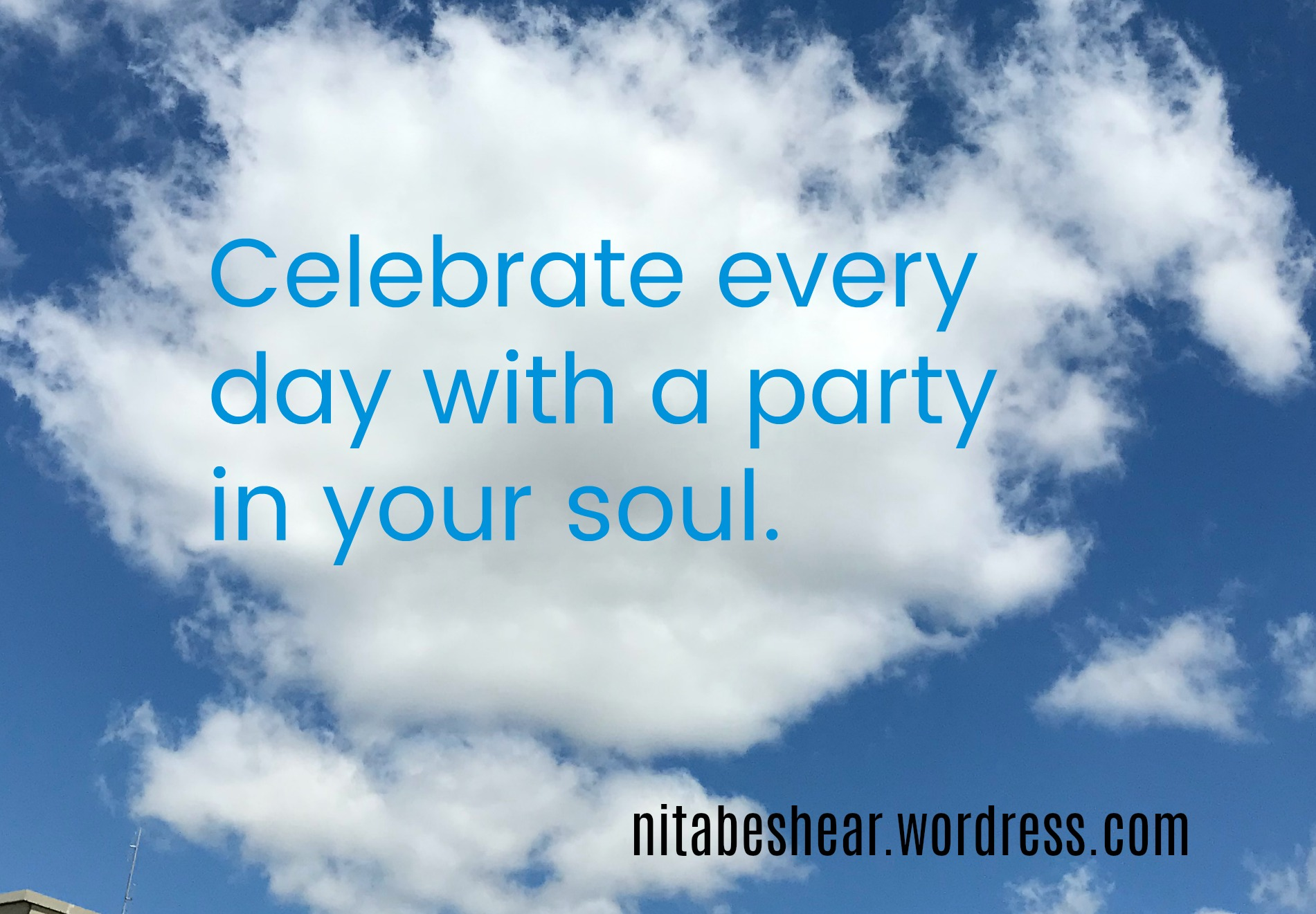 Party in soul on clouds