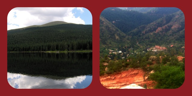 scenery in CO collage.