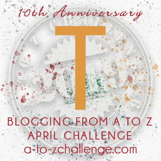 A to Z letter T