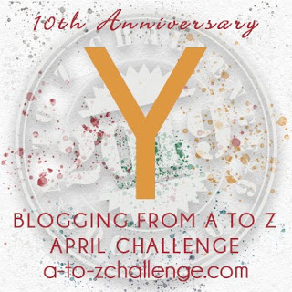 A to Z letter Y