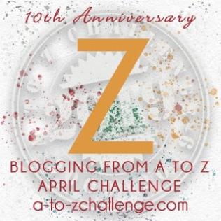 A to Z letter Z.
